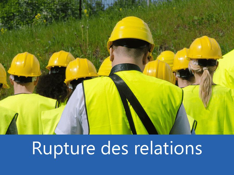 rupture des relation chantier 68, problème durant le chantier Clermont-Ferrand, stress chantier Puy-de-Dôme, problème durant le chantier Auvergne,
