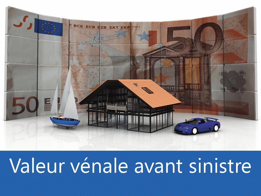 Valeur vénal avant sinistre 63, valeur des biens assurance Clermont-Ferrand, expert valeur vénale Auvergne,